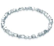 Armband 'Beads' silber