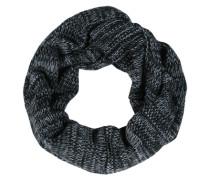 Loop 'Jarec' in Strick-Optik grau / schwarz