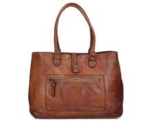 Melissa Shopper Tasche Leder 38 cm braun