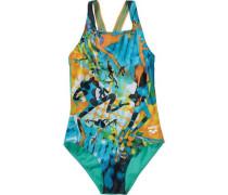 Badeanzug für Mädchen blau