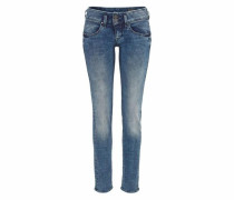 Slim-fit-Jeans »Mora« blau