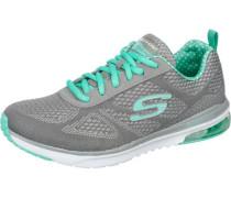 Sneaker mit Memory Foam grau / mint