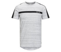 Grafik-T-Shirt weiß