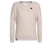 Female Sweatshirt '2 Stunden Sikis Sport Iii' beige