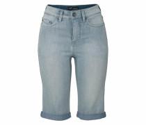 Jeansbermudas hellblau