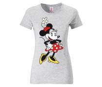T-Shirt - Minnie Mouse - Disney grau