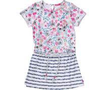 Kinder Jerseykleid Shimara hellblau / dunkelblau / grau / pink / rosa / weiß