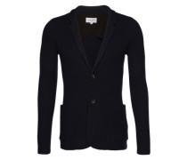 Cardigan 'knit blazer' blau