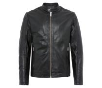 Lederjacke 'shnmiles Classic Leather Jacket'