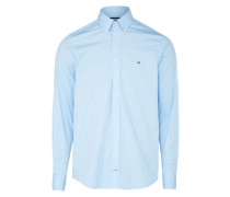 Hemd 'stretch Poplin Sf2' hellblau