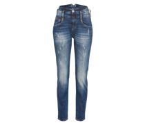 'Pitch Boyfriend' Jeans Damen blue denim