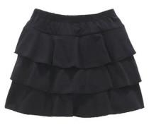 Rüschenrock für Mädchen schwarz