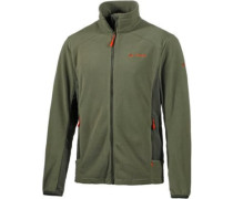 Tofane Fleecejacke Herren oliv / orange