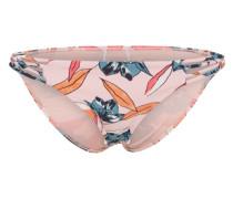 Bikinihose 'coastal' blau / rosa