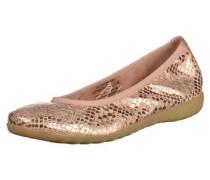 Ballerinas hellbraun / pink