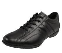 Lederschuh 'Allie' im Fussballschuh-Style schwarz