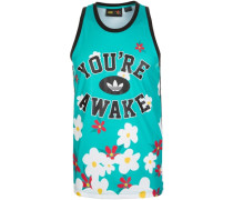 adidas Pharrell Williams Daisy Tanktop Herren blau