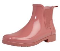 Gummistiefel im Chelsea-Look rosa