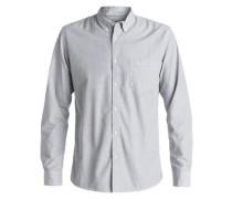 Langarm-Hemd »Everyday Wilsden« grau