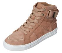 Hoher Sneaker 'Cassis' beige / rosé