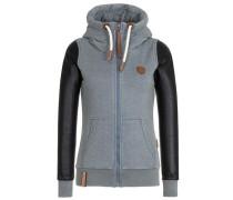 Female Zipped Jacket Meine Geschäfte Flex IV grau / schwarz