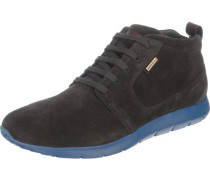 Sneakers 'Gektor' himmelblau / mokka