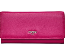 Bingo Geldbörse Leder 19 cm pink