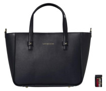 Tasche 'city Leather Tote Corp' navy