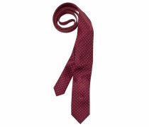 Krawatte rot / weiß