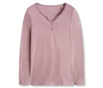 Shirt aus Bauwmolle pink