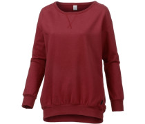 Sweatshirt Damen rot