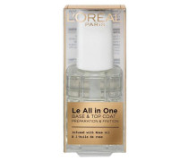 'Le All in One Base & Top Coat' Nagellack transparent