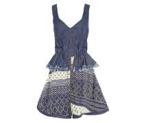 Kleid 'Efrain' blau / mischfarben