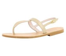 Damen Sandale beige