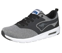 KangaCore 2106 Sneaker graumeliert / schwarz