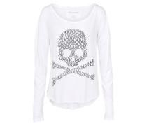 Shirt 'skull' weiß
