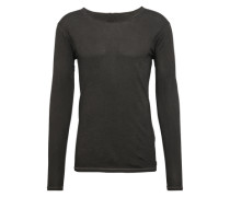 Shirt 'busted Longsleeve' schwarz