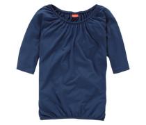 ¾ Arm Shirt mit Fledermausärmeln marine