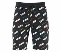Shorts 'trf AOP Shorts' mischfarben / schwarz