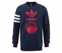 Sweatshirt 'street Graph CR' marine / rot / weiß