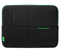Airglow Sleeves Laptop-Hülle 40 cm neongrün / schwarz
