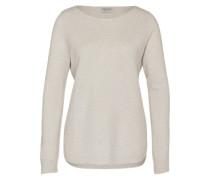 Woll-Pullover mit Kaschmir-Anteil weiß