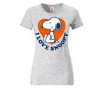 """T-Shirt """"Snoopy"""" grau"""