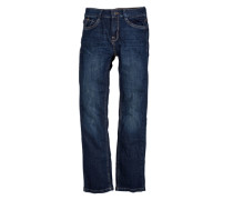 Pete: Dunkle Denim blau