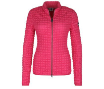 Steppjacke mit Stretch pink