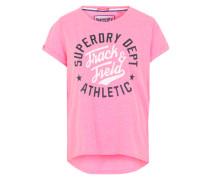 'Trackster Tee' T-Shirt pink