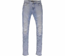 Slim-fit-Jeans 'rachelle' blue denim