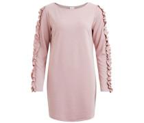 Kleid mit Rüschenärmel rosa