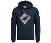 Grafik-Sweatshirt nachtblau