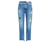 Loosefit Jeans blue denim